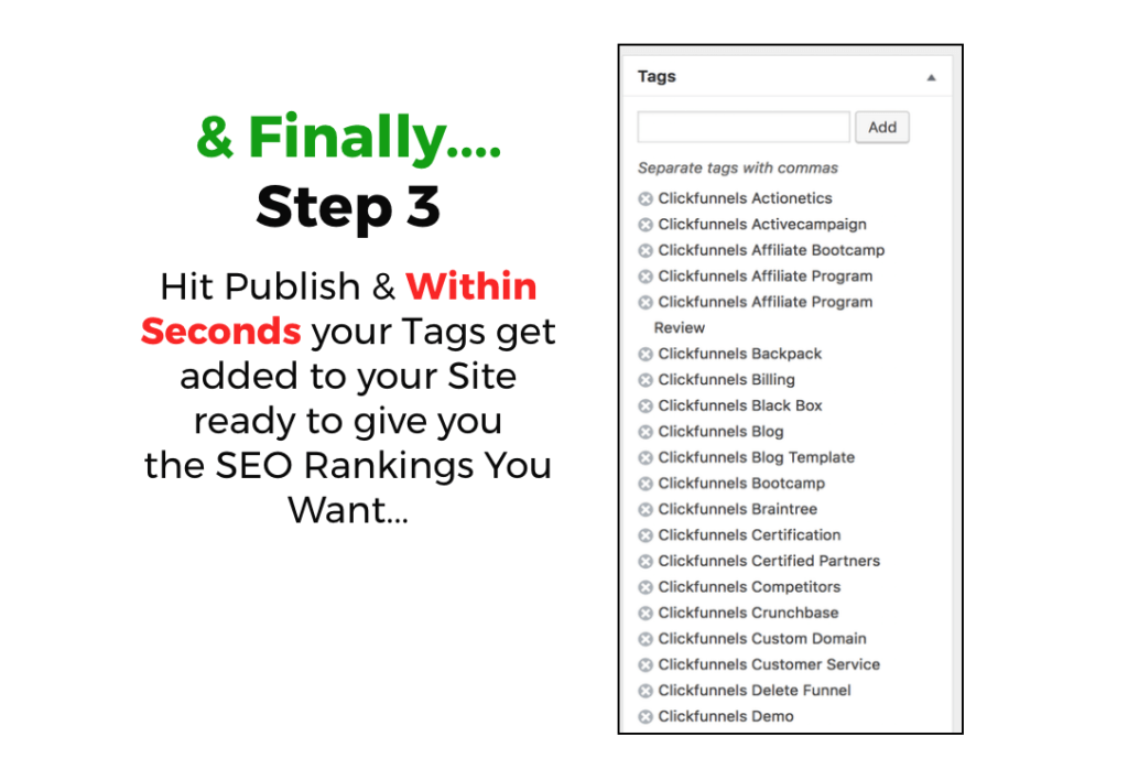 Wp tag machine review how to add powerful tags to your wordpress just install this plugin on every wordpress site you have less effort and more results is what i love and this plugin does exactly that malvernweather Images