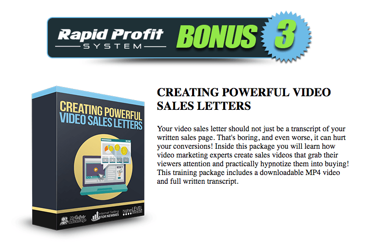 Rapid profit system review first inside look this custom affiliate launching in malvernweather Choice Image