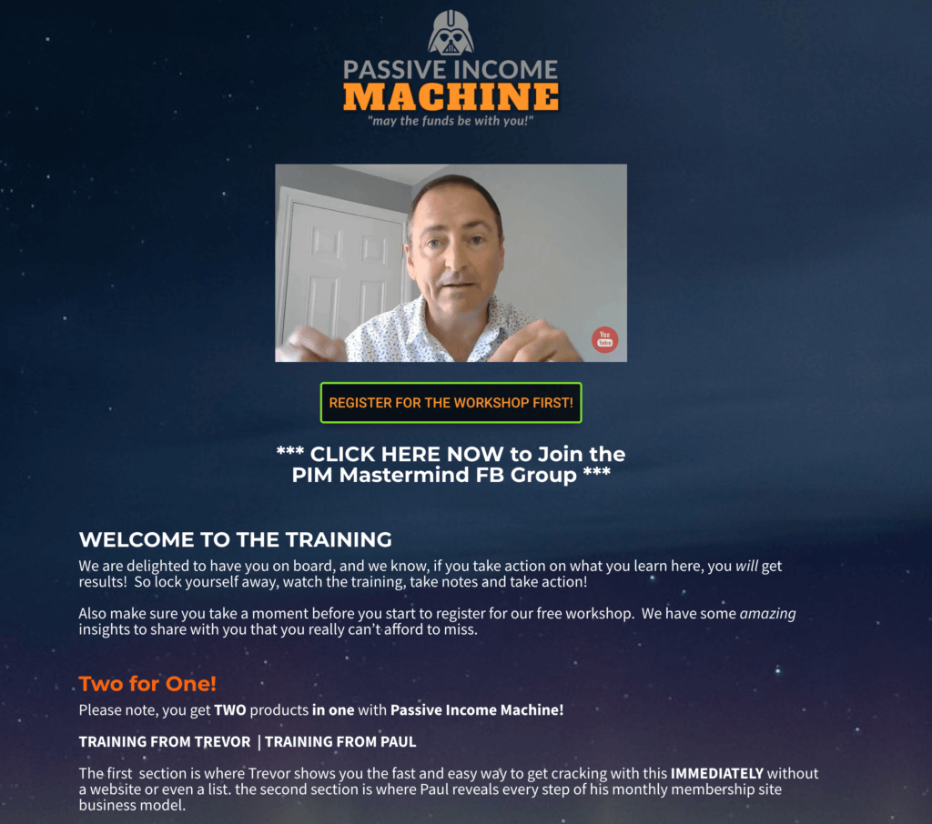 Passive Income Machine Review – SECRET REVEALED! Complete Automated Recurring Income System That Makes you GREAT Pay Days! 3