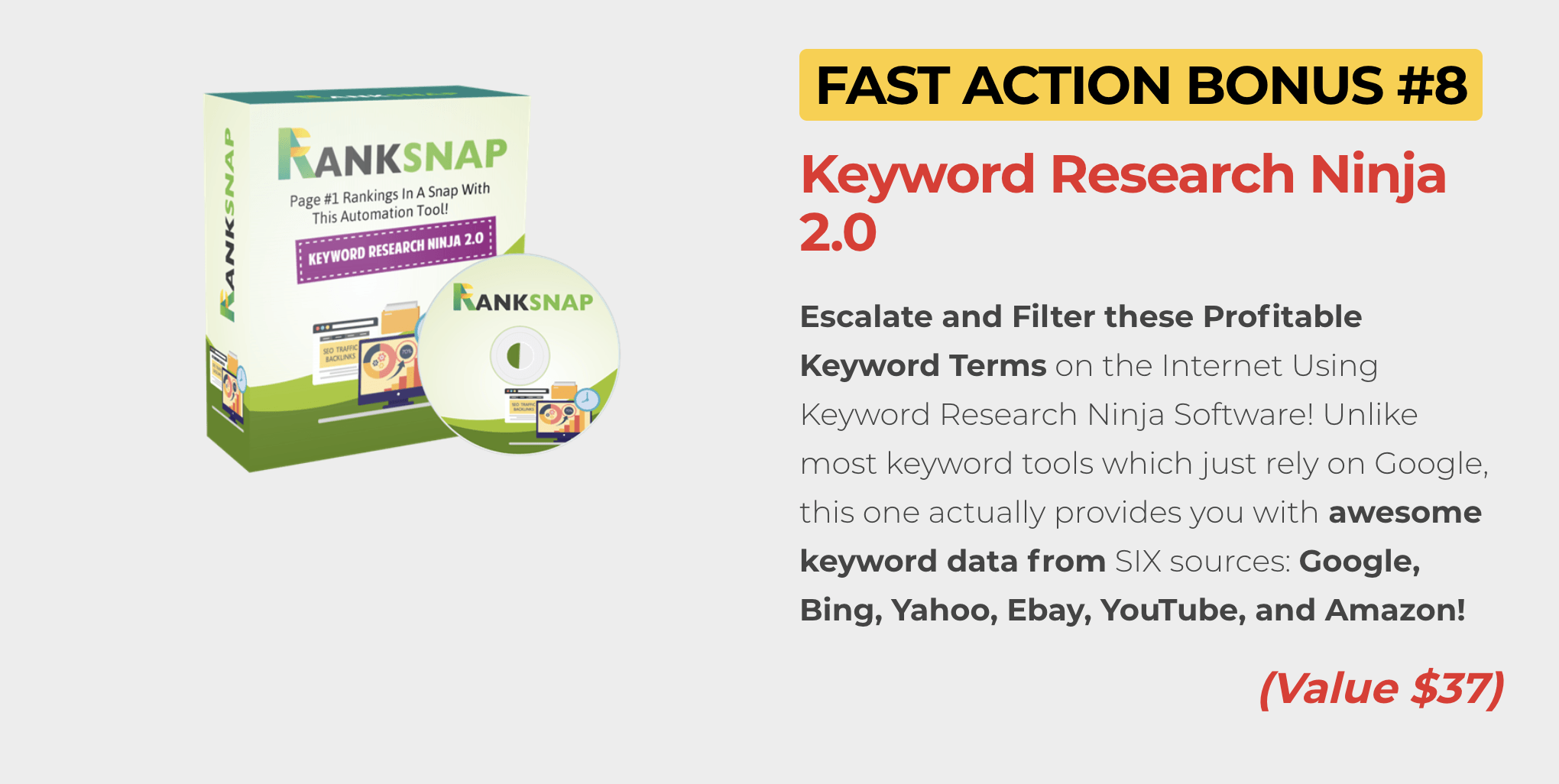 Ranksnap review how to rank anything on top of google youtube fast let me count the ways ranksnap helps your site rank malvernweather Choice Image