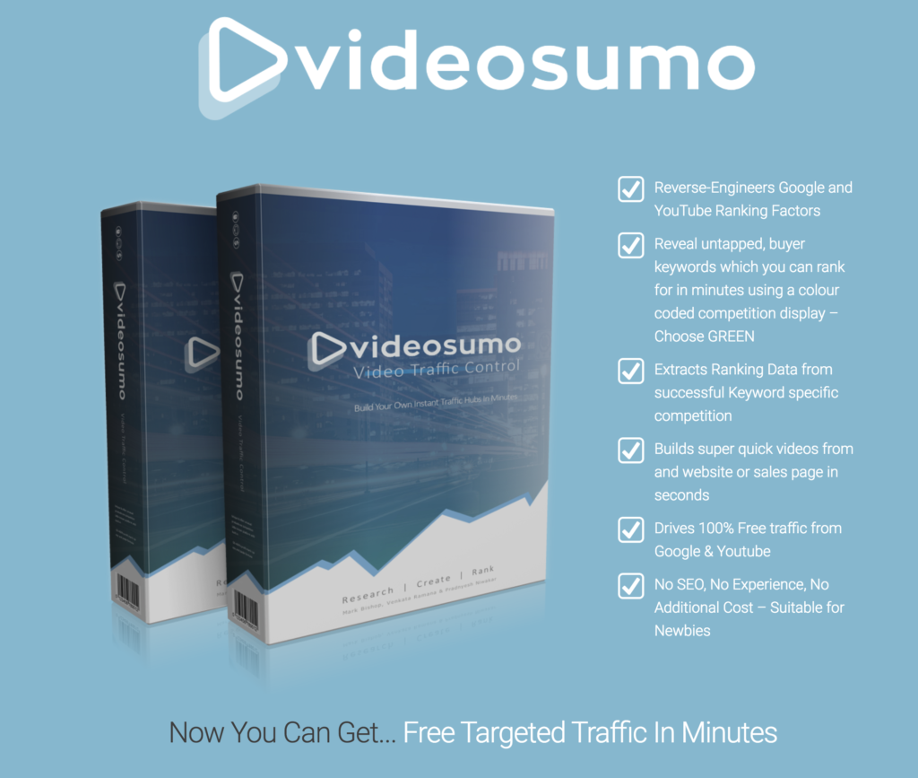 How To Rank On Google page 1 in 4 Steps and within 60 Minutes using Video Sumo 9