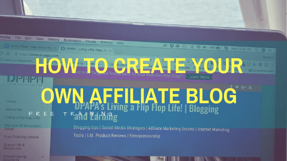 How To Create Your Own Profitable Affiliate Blog