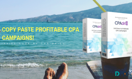 CPA Drill Review – Set Up Your First CPA Affiliate Marketing Campaign In Under 45 Minutes…
