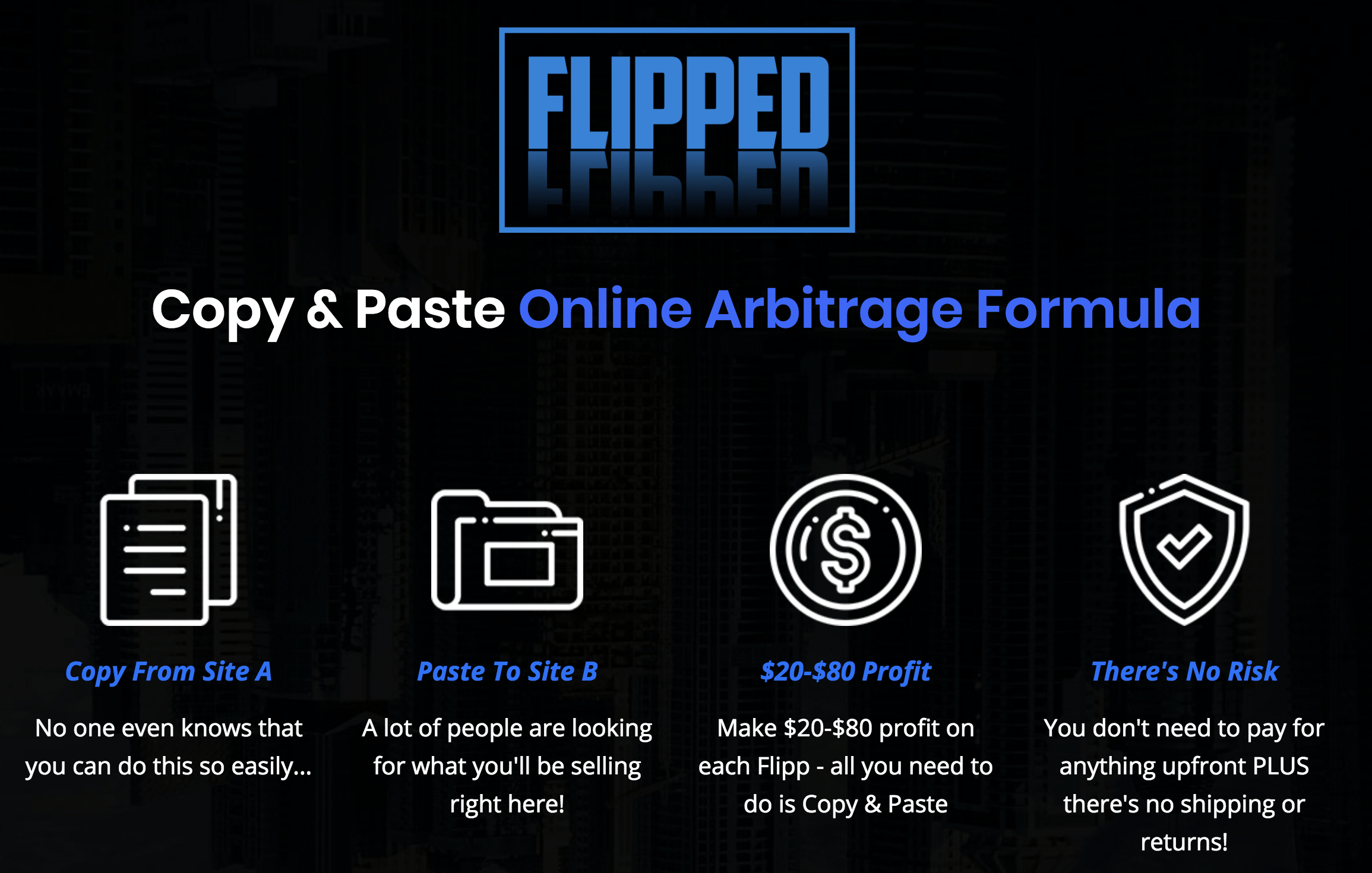 How To Arbitrage Products You Don't Own with A Rare 'Flipping' Tactic - Fast and Easy 3