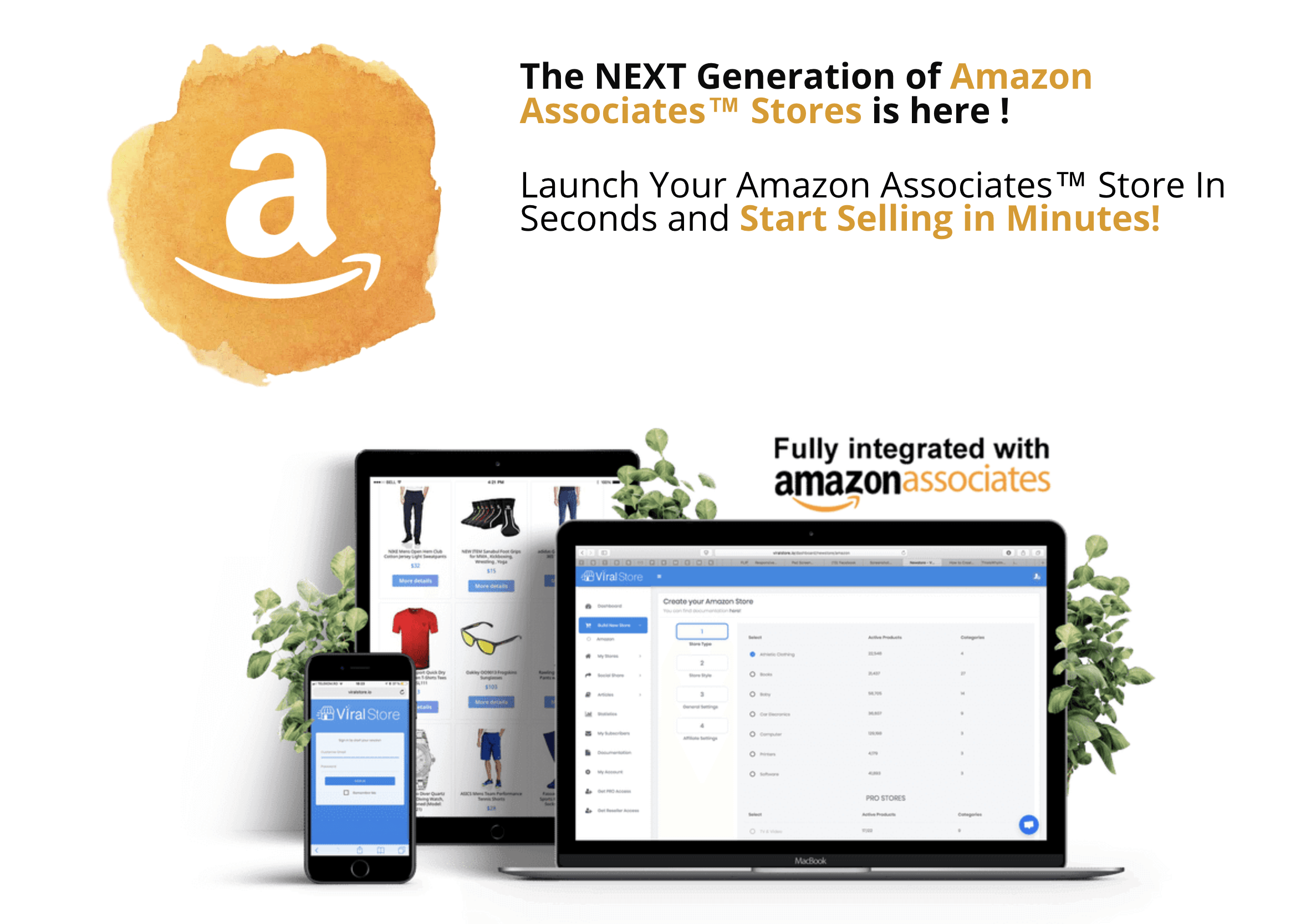 How To Build Your Amazon Affiliate Store in Under 60 Seconds 2