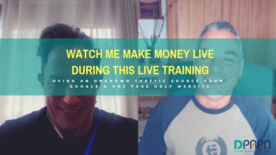 Watch Me Make Money Live During This Training As I Teach You How To Do the Same!