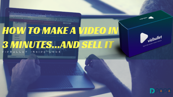 How to Make a Video in 3 Minutes & Sell it With ZERO Editing…