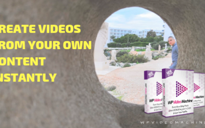 How To Create Videos From Your Own Content Instantly