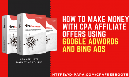 How To Make Money with CPA Affiliate Offers using Google Adwords and Bing ads