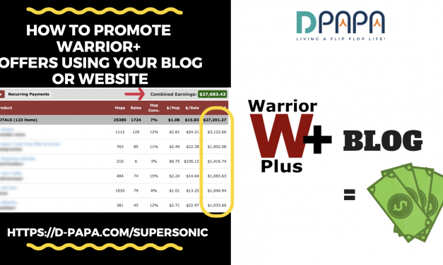 Follow and copy this proven affiliate marketing formula (free training video + proof)