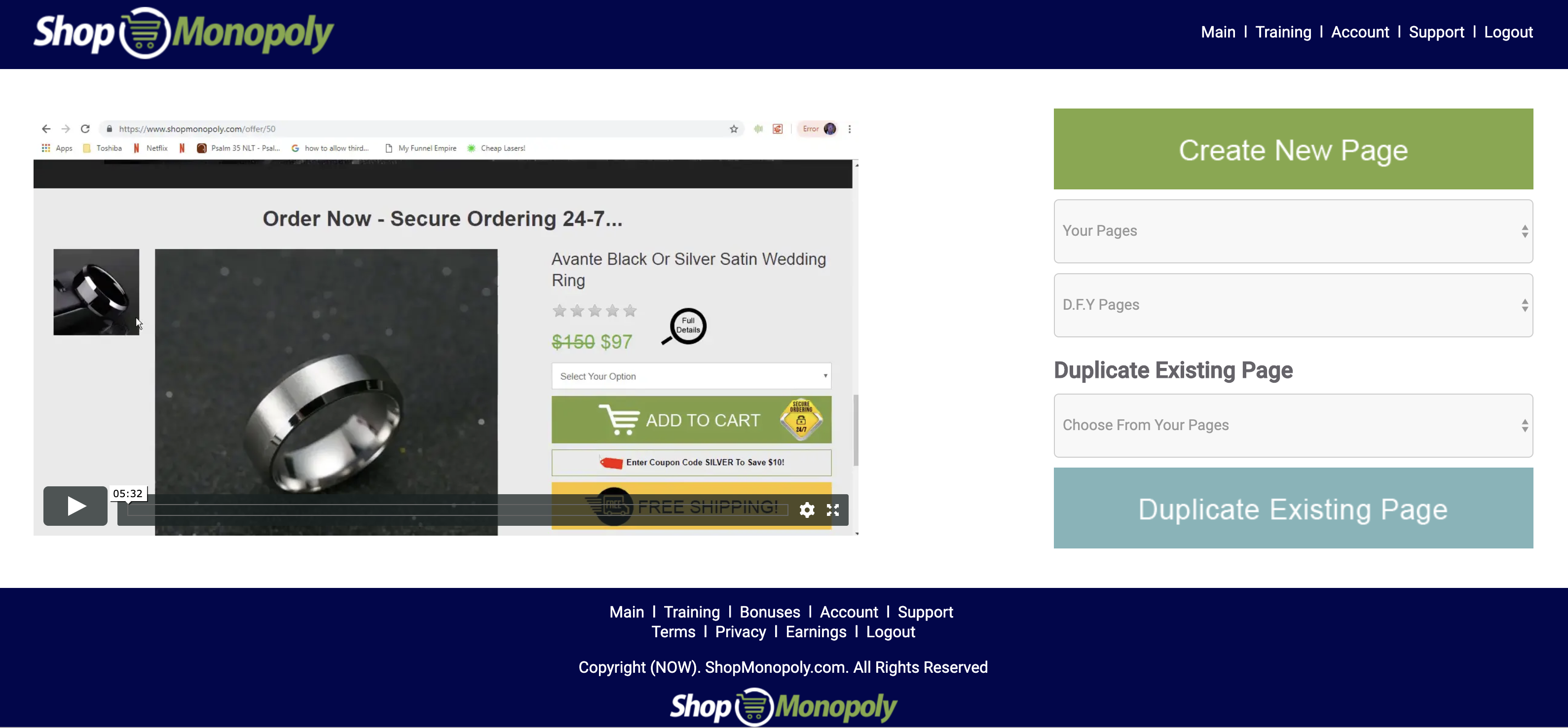 5 star ALL-IN-ONE online income platform | SHOPMONOPOLY 2