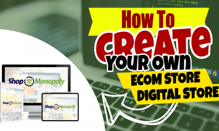 5 star ALL-IN-ONE online income platform | SHOPMONOPOLY