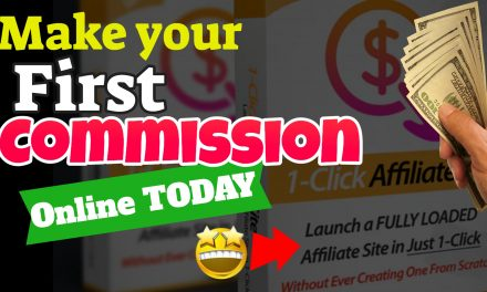 Earn Your First Commission with Your own Personal Done For You Affiliate Website