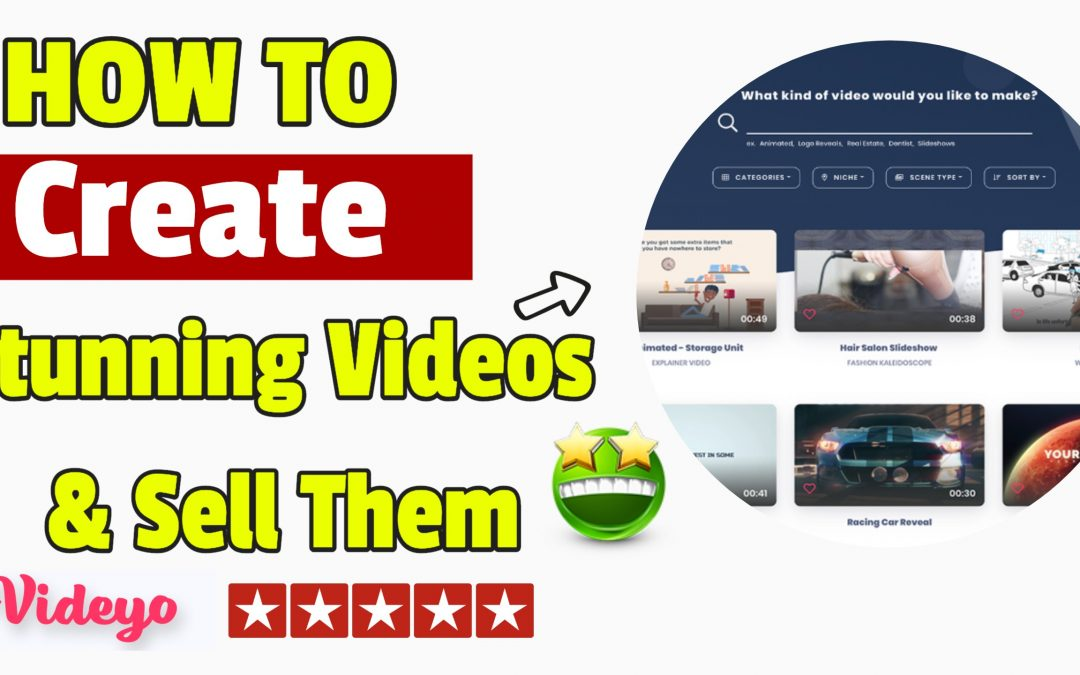 Powerful software creates stunning videos and sells them for you too