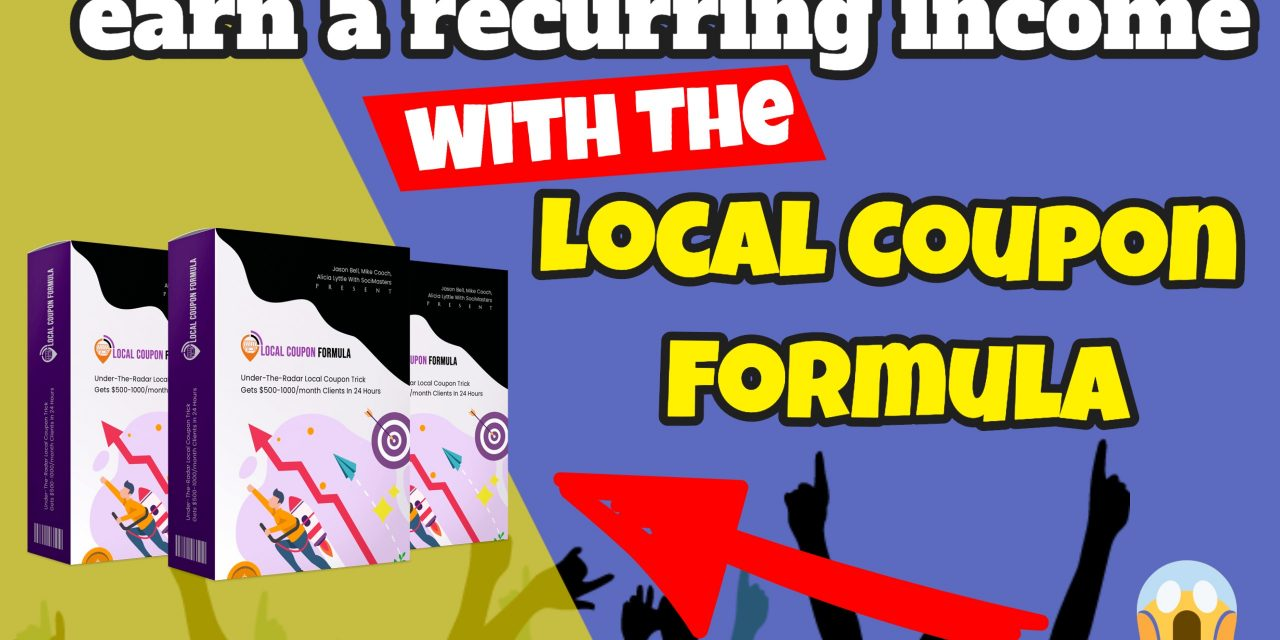 Get On The 'Digital Coupon' Trend and make a recurring income out of it