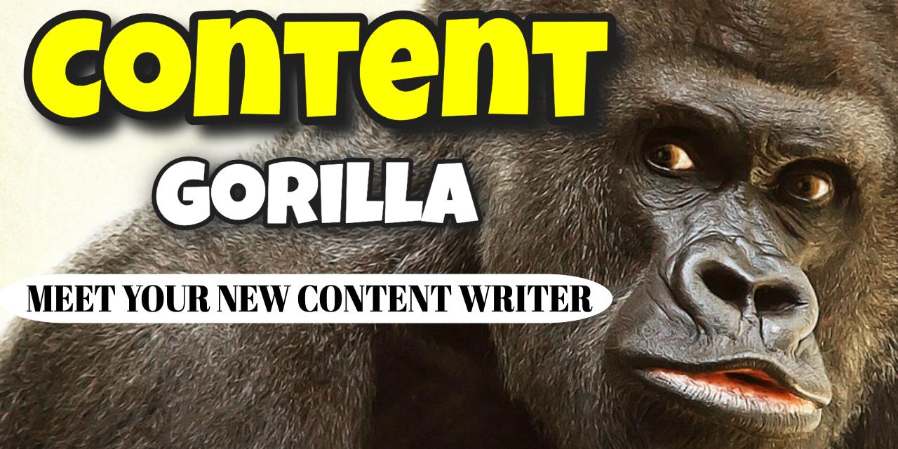 Meet your new content writer | Content Gorilla