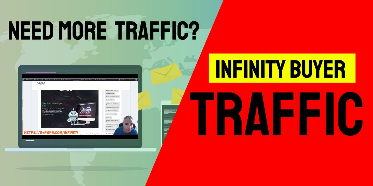 Need More Traffic ? You Can Have An Infinity Of it