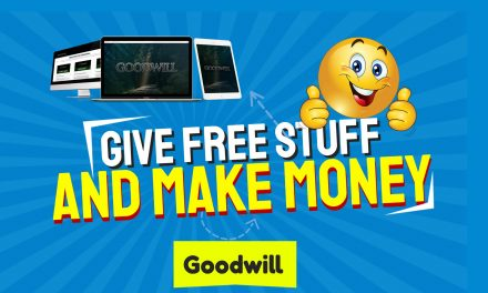 How To Give Stuff Away Out of Goodwill and Make Money From It