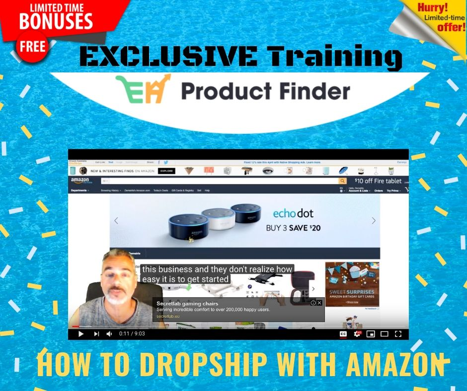 Launching Your Own Hyper Profitable Ecommerce Empire Easily using EH Product Finder 14