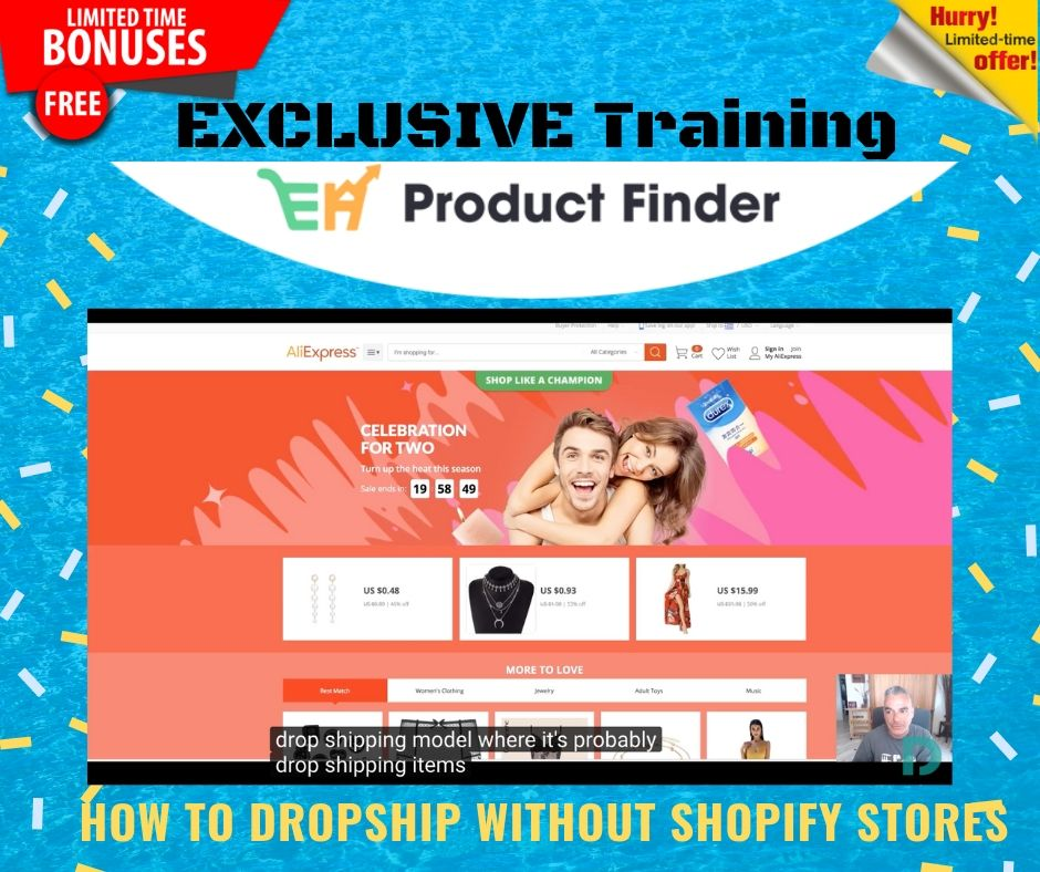 Launching Your Own Hyper Profitable Ecommerce Empire Easily using EH Product Finder 13