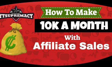 How To Generate 10K+ a Month on YouTube With Affiliate Sales with YT Supremacy