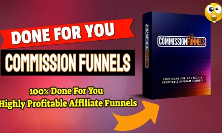 """Get Your Own """"DONE FOR YOU"""" Affiliate Commission Funnels To Help You Earn From Zero to 3+ figure in daily profits"""