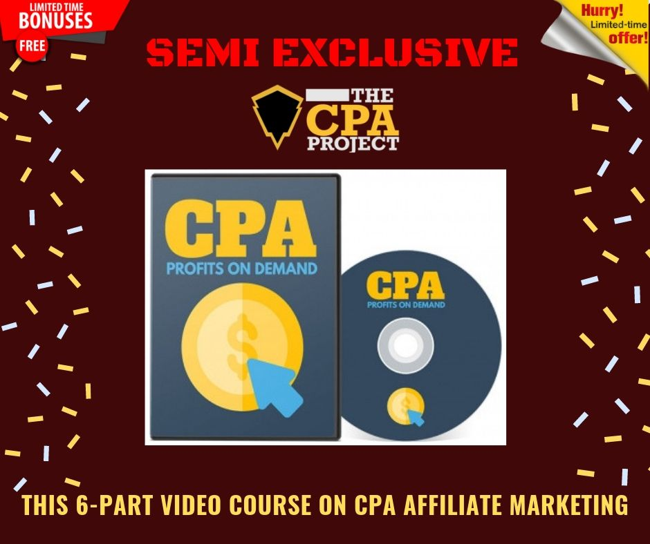 [THE CPA PROJECT] 4 Ways to Build a Passive Income With CPA Affiliate Marketing 18