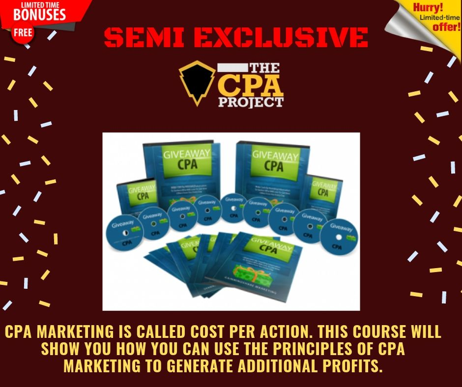 [THE CPA PROJECT] 4 Ways to Build a Passive Income With CPA Affiliate Marketing 17