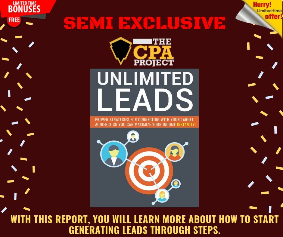 [THE CPA PROJECT] 4 Ways to Build a Passive Income With CPA Affiliate Marketing 16