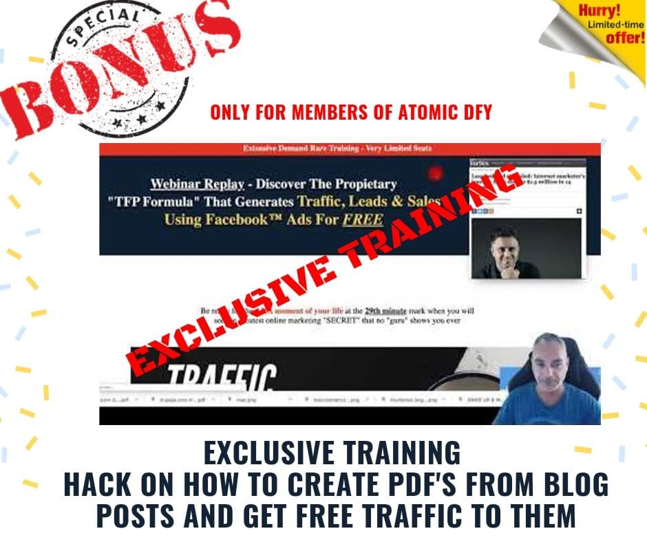 """How To Get Free Traffic, Digital Assets and Monetization 100% """"Done For You"""" 10"""