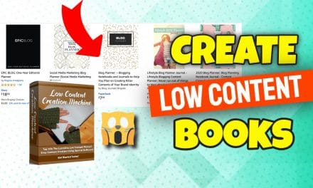 Low Content Creation Machine   Create Your First Low Content Book And Sell It on KDP