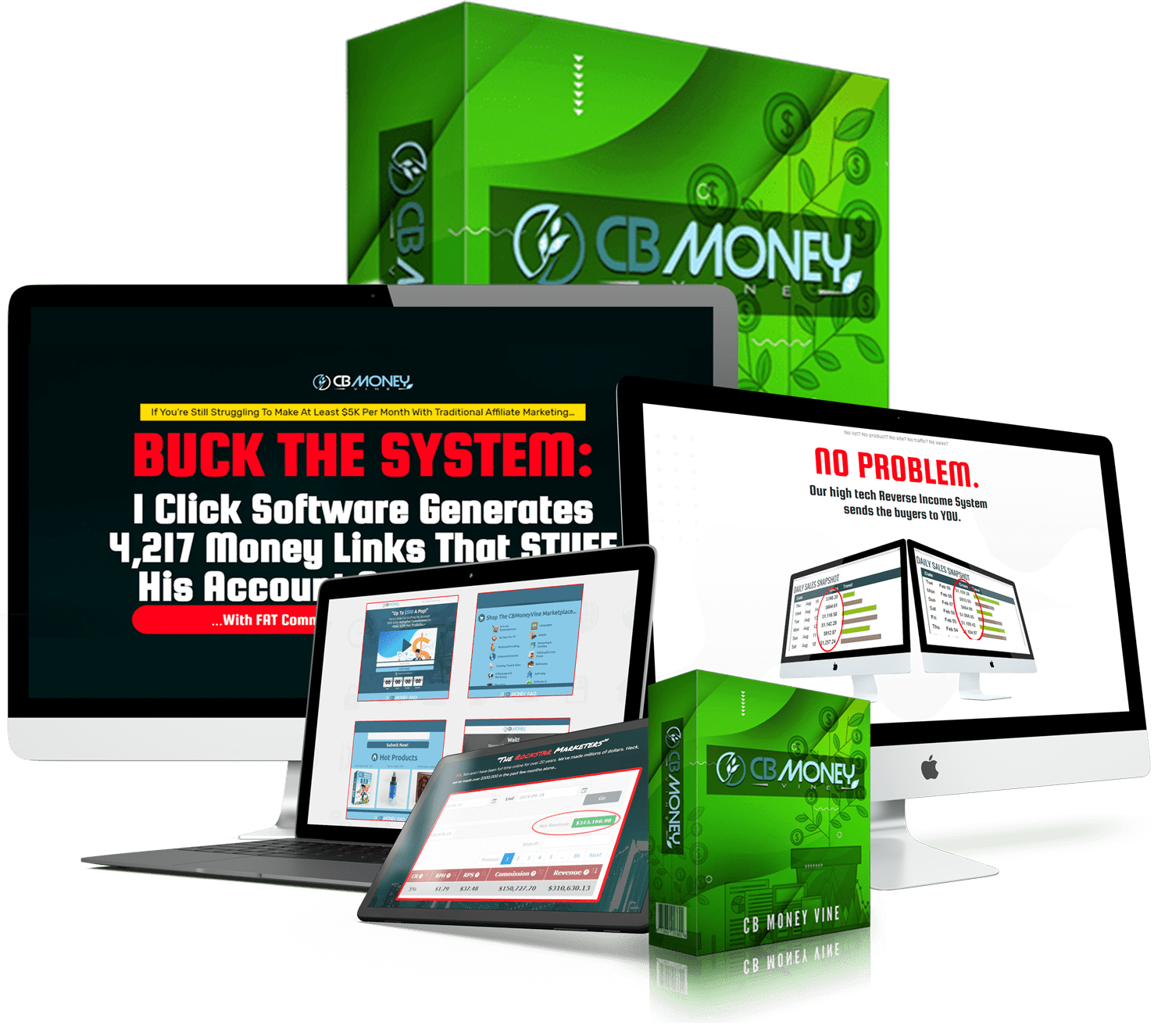 Reverse Income Software Generates AUTOPILOT Commissions with Clickbank 2