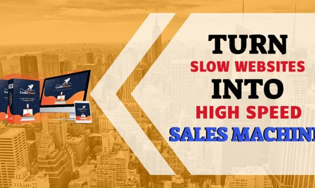 Turn Slow Websites Into a High Speed Sales Machine
