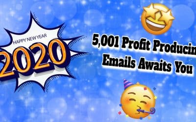 The Grande Finale   5,001 Profit Producing Emails Awaits You