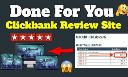 CB Profit Sites | 100% Done-For-You Clickbank Review Site Pre-Loaded With Reviews