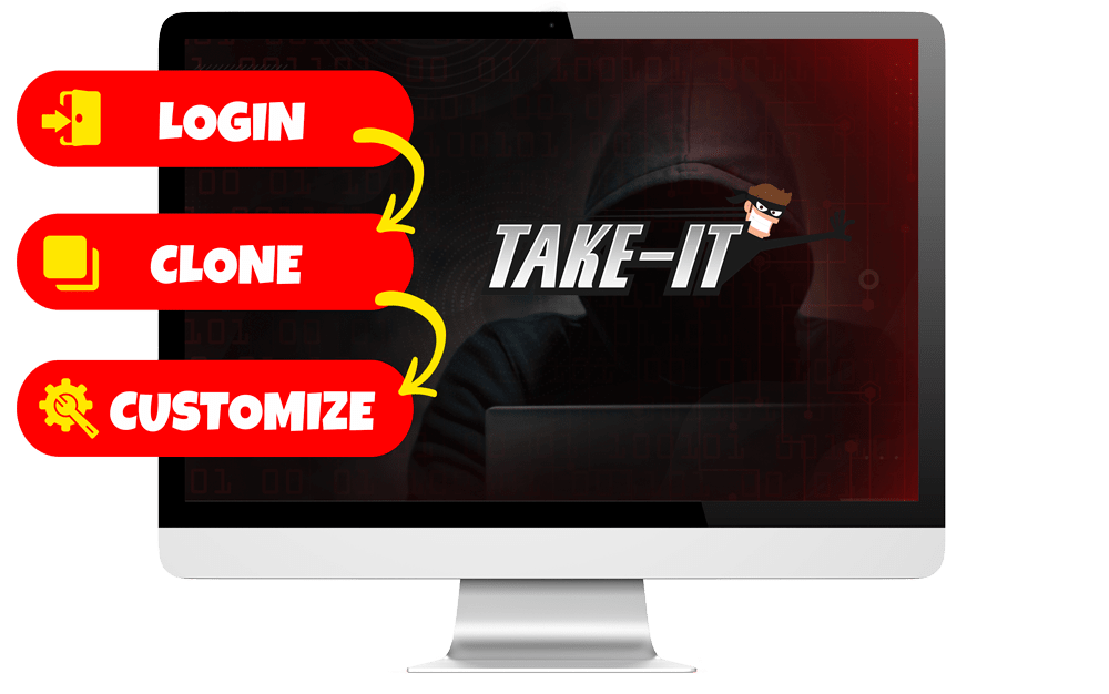 Take It Review | Clone any Page and Steal Viral Traffic For Your Own Offers 2