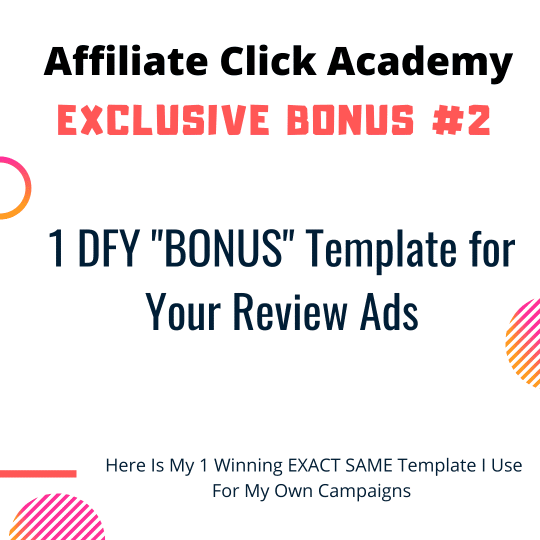 Want To Run Affiliate Campaigns on FB Without Getting Banned? Learn Everything In Affiliate Click Academy 7