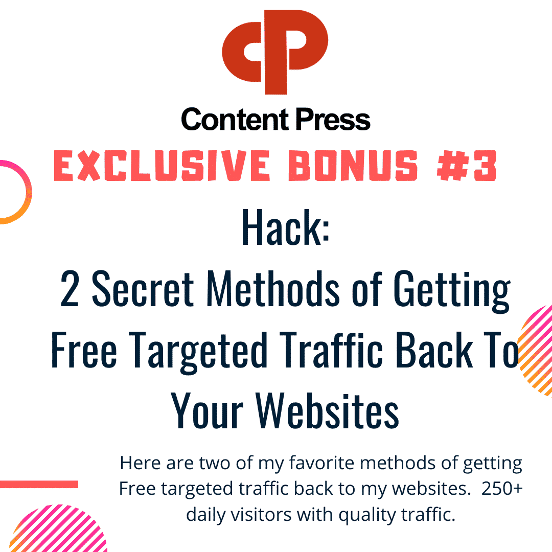 How To Generate and Distribute Quality Content In ANY niche in seconds using ContentPress 9