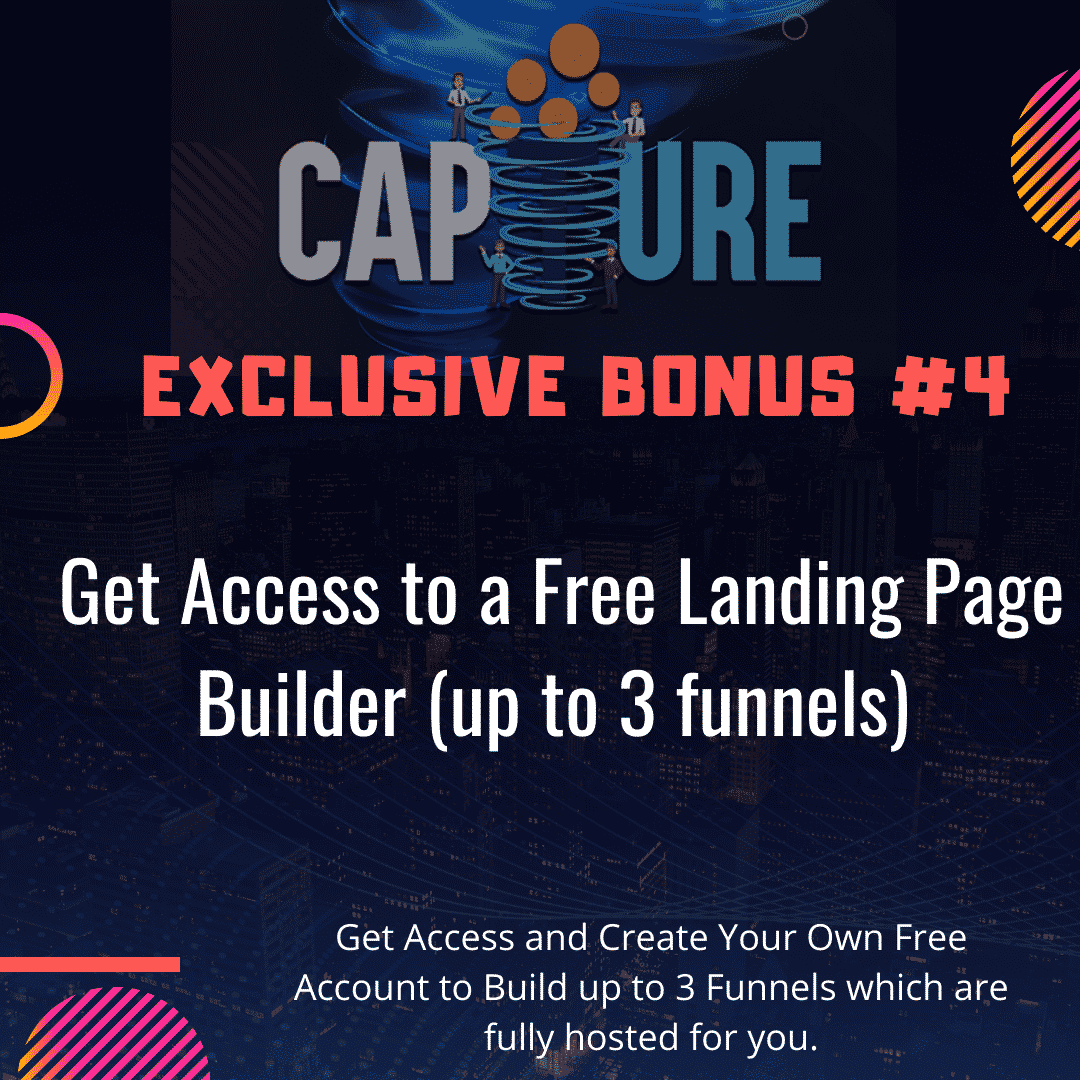 Capture Review | Build a List on Autopilot and Send Traffic To Affiliate Offers 8