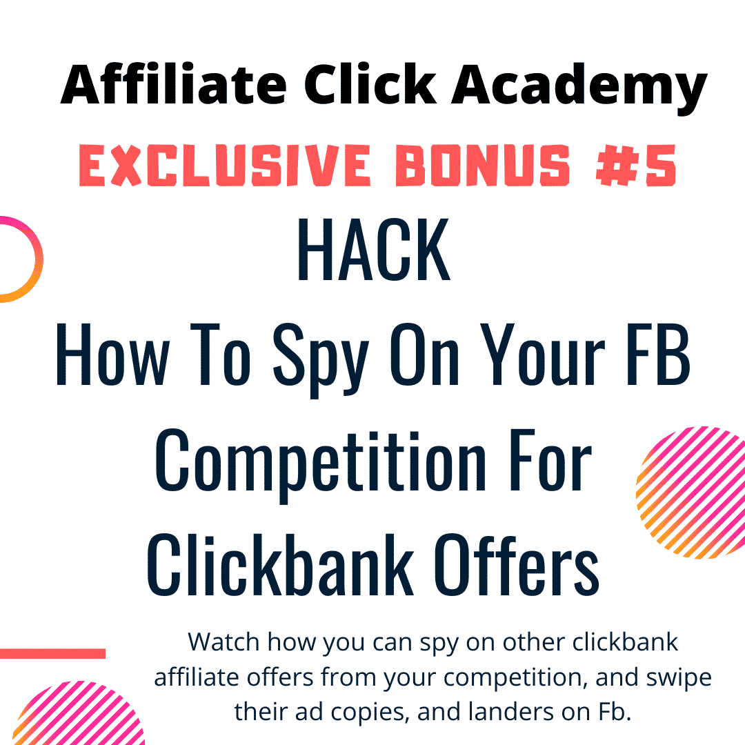 Want To Run Affiliate Campaigns on FB Without Getting Banned? Learn Everything In Affiliate Click Academy 10