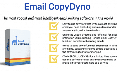 Email CopyDyno | Start Making Money with Email Marketing