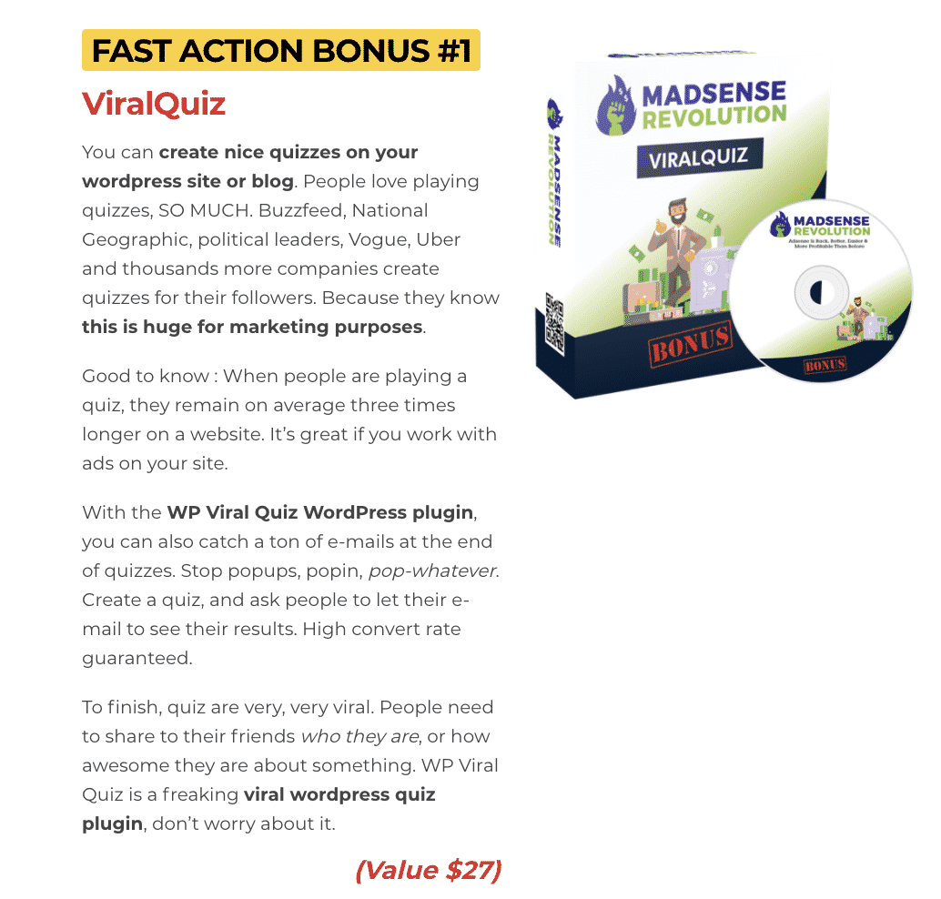 Madsense Revolution : How to get to 100,000 visitors per month and 6 figure income with 0 cost 5