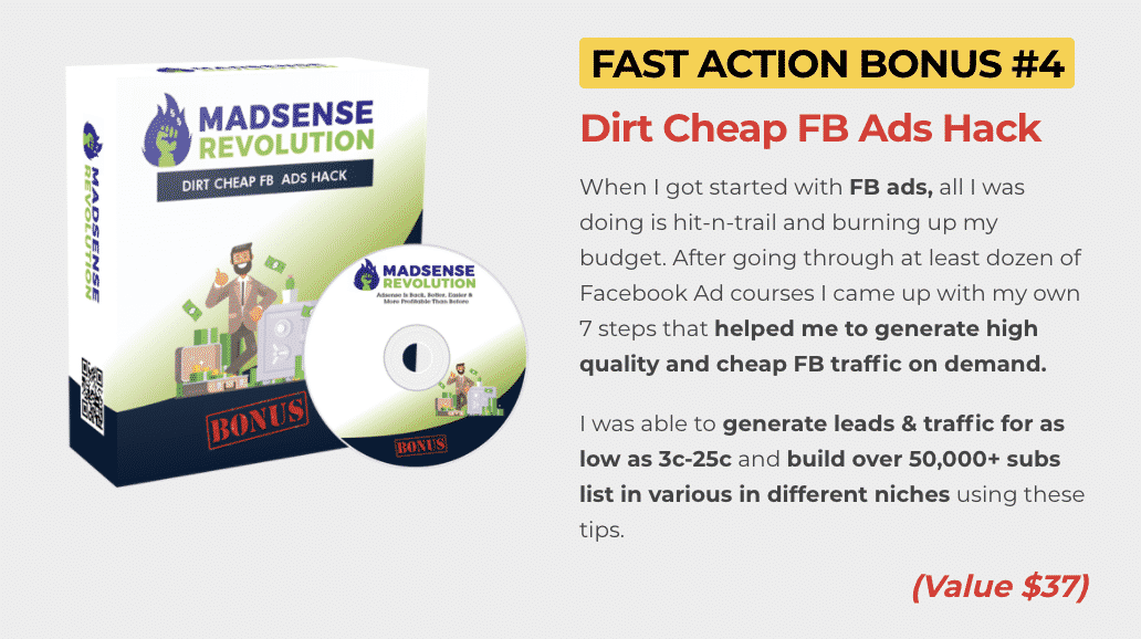 Madsense Revolution : How to get to 100,000 visitors per month and 6 figure income with 0 cost 8