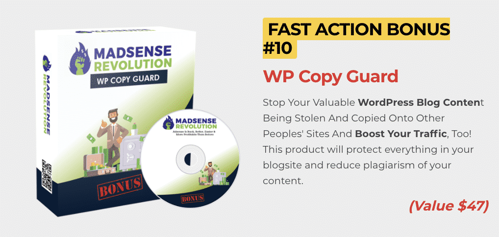 Madsense Revolution : How to get to 100,000 visitors per month and 6 figure income with 0 cost 13
