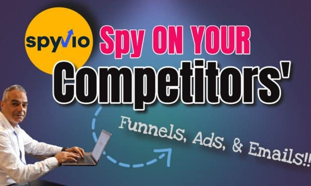 Spy On Your Competitors Best Funnels, Ads & Emails using SpyVio