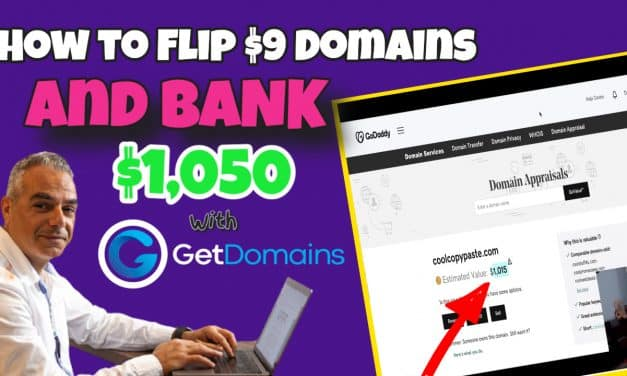 GetDomains – Shows Anyone How to Make a Profit Online Flipping Domain Names